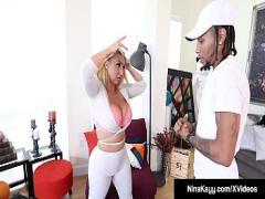 Free x videos category big_ass (660 sec). Nympho Nina Kayy Banged By Fat Ebony Cock!.