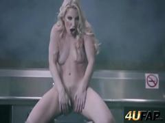 Nice video category bdsm (305 sec). Brutal beating of babe039_s bottom.